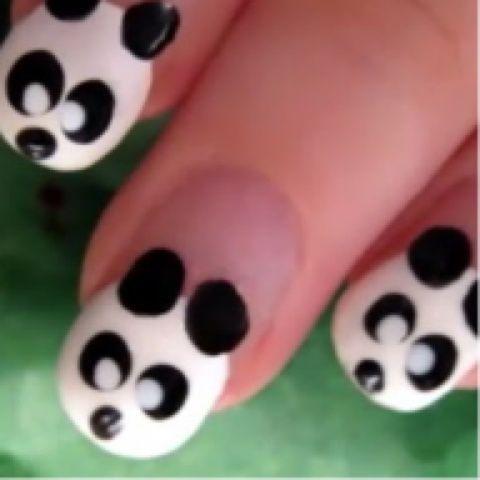 cute panda nails: Pandas Nails, Nails Design, Nailart, Cute Nails, Naildesign, Nails Ideas, Pandas Bears Nails, Nails Art Design, Animal Nails Art