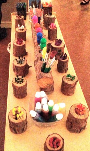 Reggio Emilia Classroom Layout cool ideas to incorporate nature into the classroom.