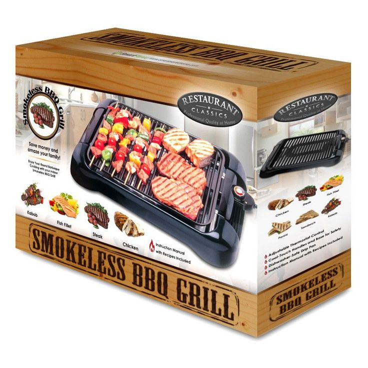 Features: - Make food for the whole family and friends with the Indoor Grill - Non-stick surface for easy clean-up.