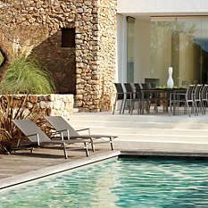 Frontgate Azore by Gloster Collection - Outdoor Furniture Sets