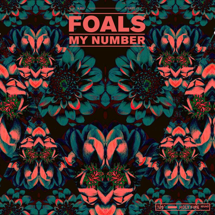 """Foals - My Number 7"""" backed with 'Bluebird' out April 20th #RecordStoreDay"""
