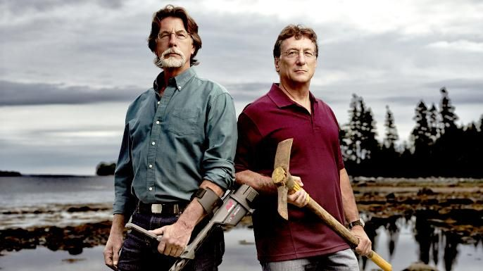 """A Pretty BA pic of Rick and Marty Lagina from """"The Curse of Oak Island."""""""
