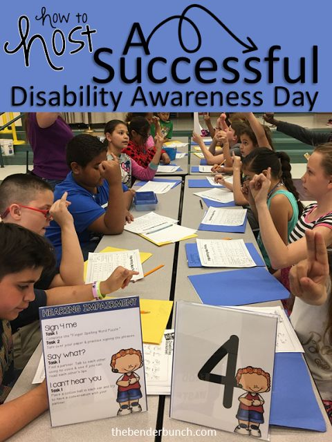Spread awareness, promote acceptance, and decrease bullying by hosting a Disability Awareness Day at your school!!!