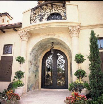 Elegante Iron - eclectic - front doors - dallas - Elegante Iron, Inc.