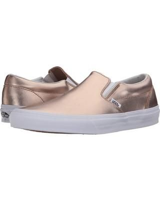 THIS IS LISTED IN WOMENS SIZES. Vans classic slip on in seasonal colors and materials