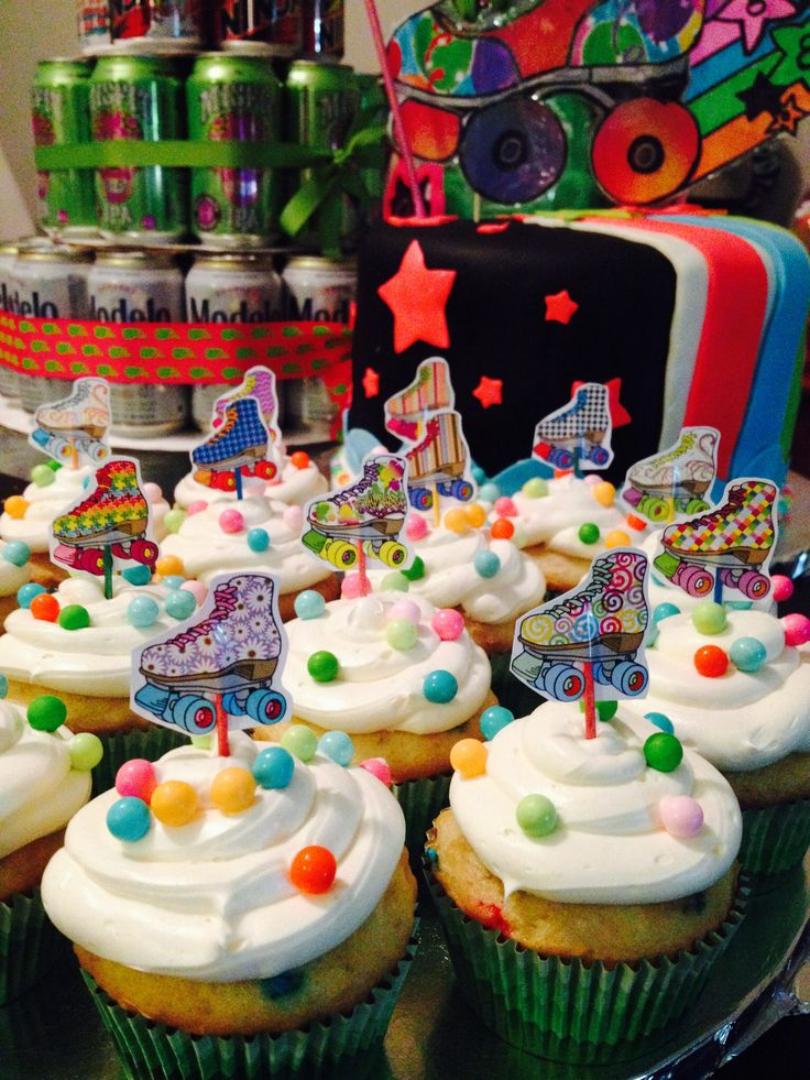1000 Ideas About Roller Skate Cake On Pinterest