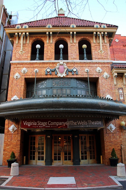 Wells Theatre Norfolk (VA) by Mr. T in DC, via Flickr ~ Opened in 1913, it still look great and host several venues every year.
