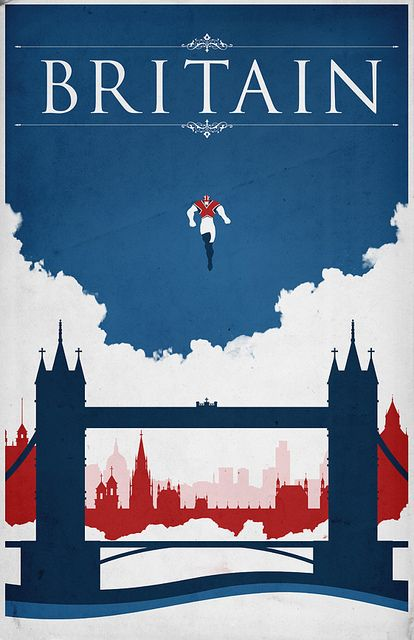 Captain Britain 2 / City Series by Justin Van Genderen (http://www.flickr.com/photos/justinvg/sets/72157624341432442/) buy here: http://www.etsy.com/shop/JustinVG