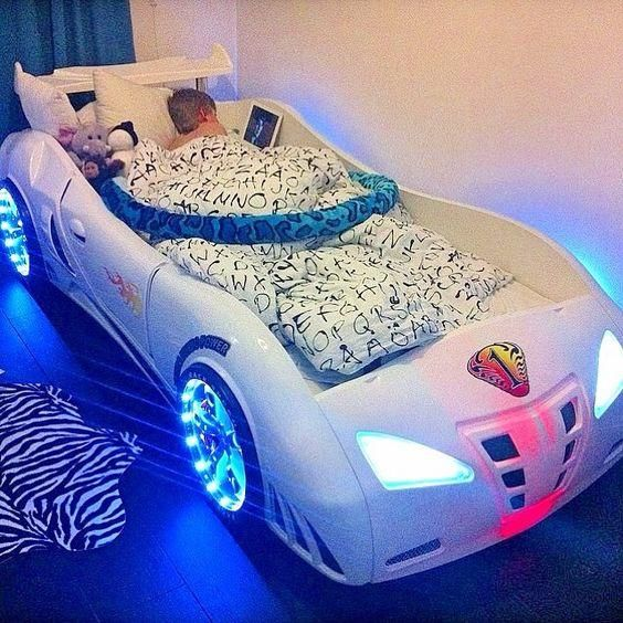 Car Shaped Bed For The Racer (Cool Beds For Boys)