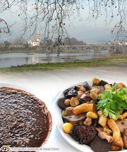 Sarrabulho, gastronomia de Ponte de Lima, Portugal