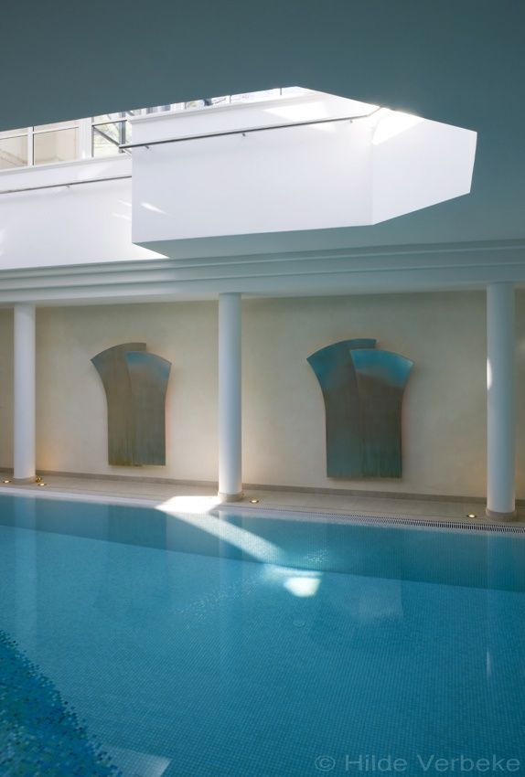 oranjerie als zwembadoverdekking van ondergronds zwembad en relaxruimte | De Mooiste Veranda's