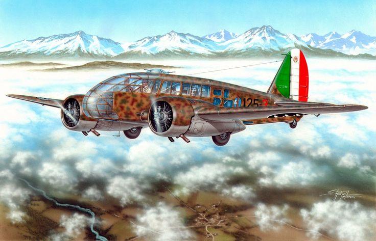 Caproni Ca.311 - Stanislav Hajek - Special Hobby