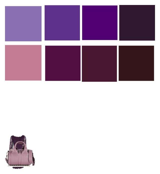 """purple"" by elenton on Polyvore featuring мода, Diane Von Furstenberg и Alexander Wang"