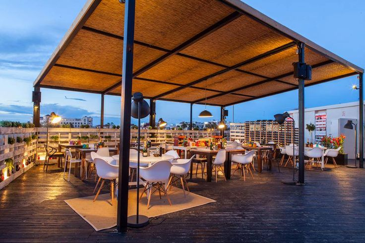 Decoraci n arquitectura terraza restaurante for Terrazas vintage