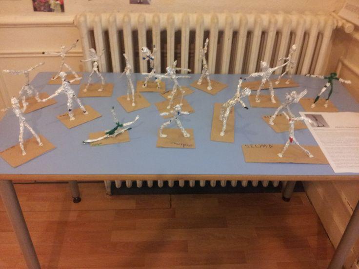 Alberto Giacometti - Artistes Etudiés en Maternelle/ Artists in pre-elementary.