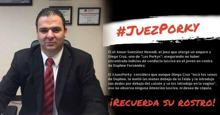 Jesús Aranda,César Arellano, Edgar Ávila y Ale del Mar ] CIUDAD DE MÉXICO * 29 de marzo de 2017. El Consejo de la Judicatura Federal (CJF) suspendió al juez tercero de distrito en Veracruz, Anuar González Hemadi, quien amparó a uno de los cuatro jóvenes conocidos como Los Porkys acusado de...