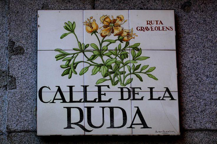 Calle de la Ruda ( Madrid )