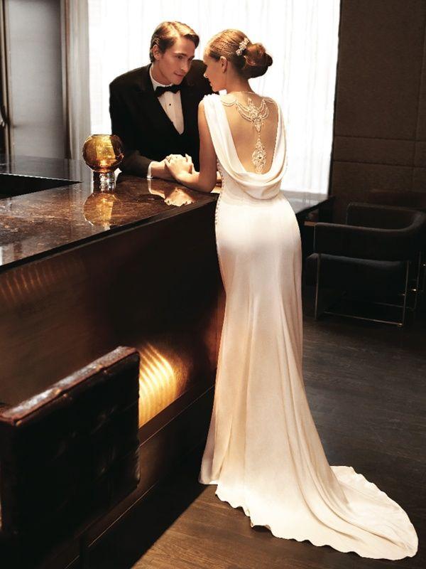 Classic Romantic Bride And Groom