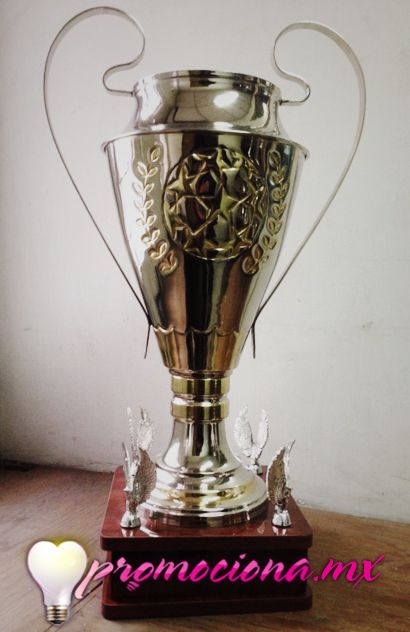 Torneo Champions, base madera, placa personalizada selección de color.  http://www.promociona.mx/index.php/trofeo.html