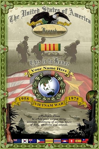 Custom designed Vietnam War Memorial Poster to honor our past and present veterans of the Vietnam War. Description from pinterest.com. I searched for this on bing.com/images