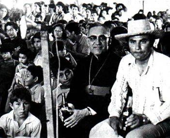 civil war el salvador 1980 | Romero with the Salvadoran people. As El Salvador's impoverished ...