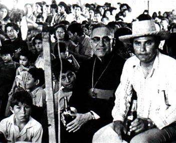 civil war el salvador 1980 | Romero with the Salvadoran people. As El Salvador's impoverished ...