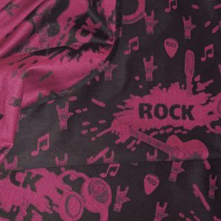 Fidella babywrap - Rock n Rolla -pink splash- 520 cm - size 7