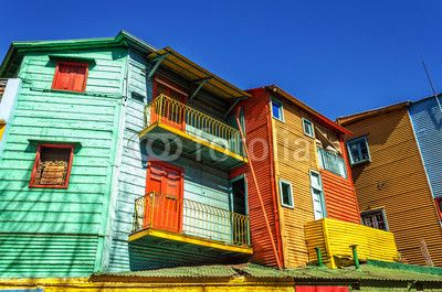 Bright Colors in Buenos Aires
