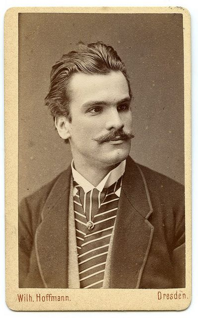 Mihai Eminescu born Mihail Eminovici/  15 January 1850 – 15 June 1889/ was a Romantic poet, novelist and journalist, often regarded as the most famous and influential Romanian poet. Unknow photo very very rare from 1871