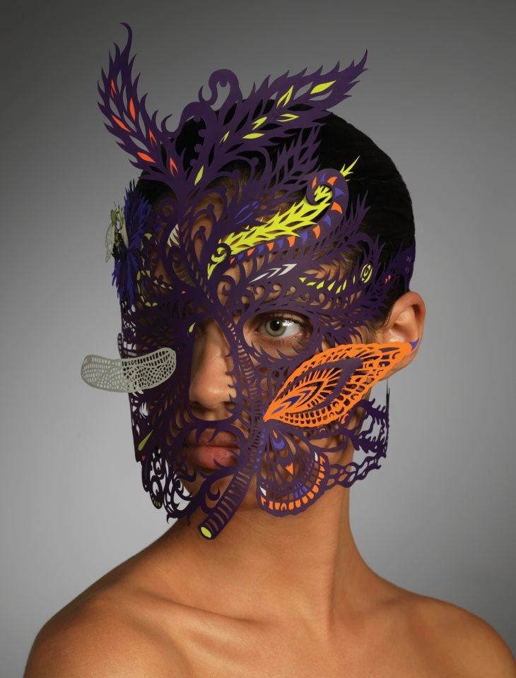 """""""A mask... It's all about metamorphosis, hiding and revealing at the same time.""""  AMBASSADOR - Kako Ueda (New York, USA)    - www.kakoueda.com"""