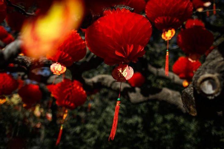 """Los chinos se toman un respiro en las fiestas por el """"Día de la Boca Roja"""""""