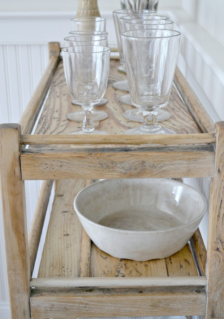 bleached wood // i am sooooooo going to do this - best part .. it's cheaper and easier than painting
