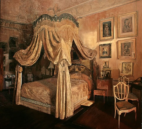 castle bedroom.  Crazy that I like this, right?