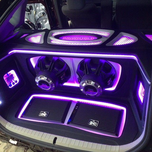 Xthunder Amplifiers Recessed Into A False Floor And 75