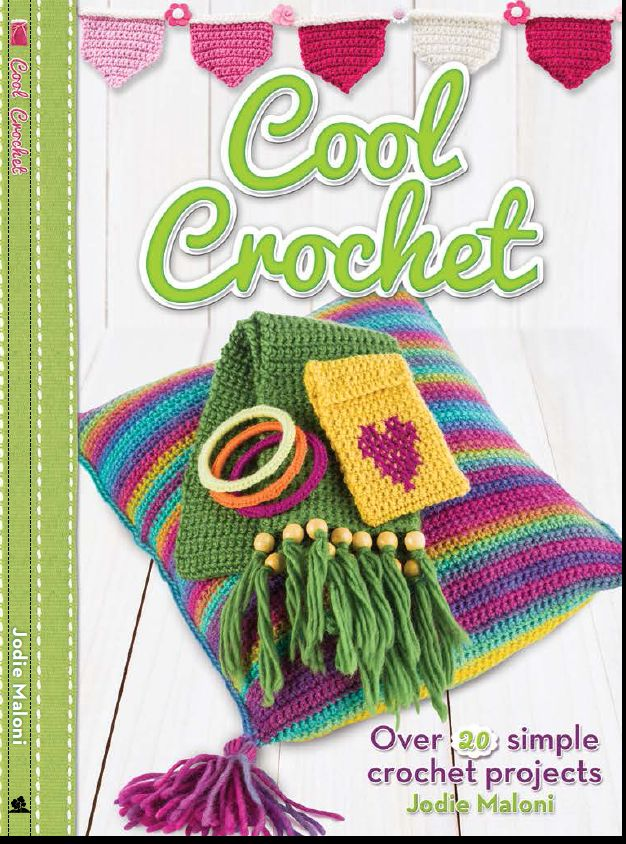 New Publication: Cool Crochet by Jodie Maloni by The Haby Goddess