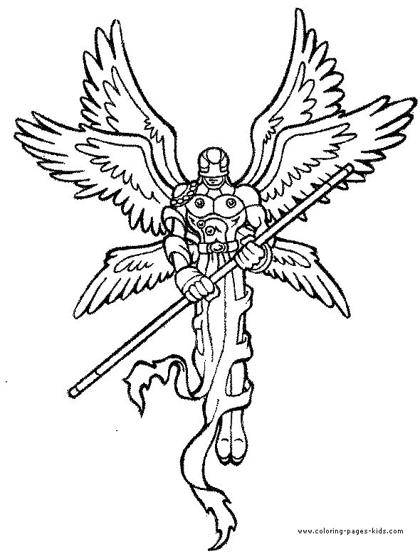 digimon coloring pages angelmon enjoy coloring - Digimon Coloring Pages