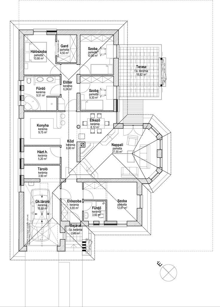 Egyszintes családi ház 155 m2 - Családiházam.hu