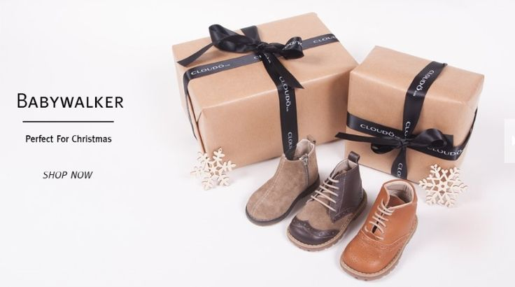 still looking for the perfect present? BABYWALKER luxury shoes