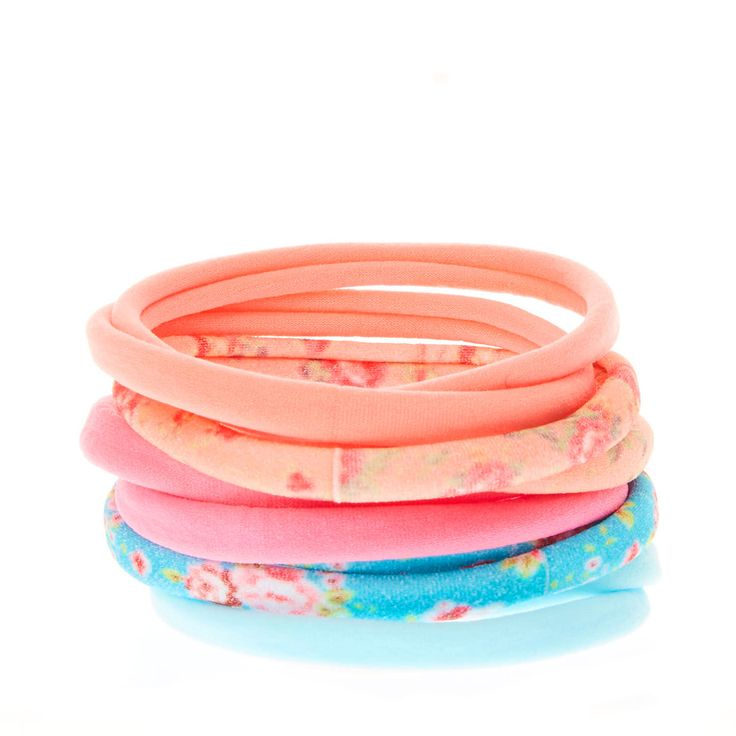 <P>For fun summer style from head to toe finish off your look with this pack of 10floral printed hair bobbles. This 10 pack of bobbles is the perfect addition to your hair accessories collection as the hair ties come in a variety of styles and colours. The set includes 2 of each design includingfloral prints, pink, turquoise and coral bobbles. </P><UL><LI>Set of 10 hair bobbles <LI>Pink,&nbsp...