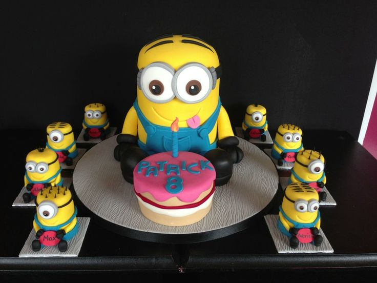 Cake Deco Mania : 174 best images about Cakes Minions on Pinterest