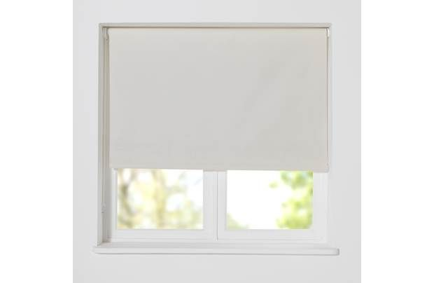 nice HOME Thermal Blackout Roller Blind - 5ft-Cotton Cream