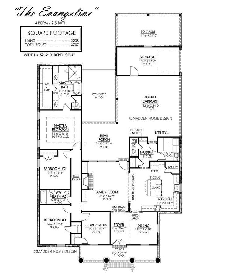 Madden home design the evangeline house diy redo for Madden house plans