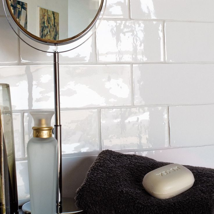these beautiful traditional town u0026 country crackle white 15 x brick tiles from our classical tile collection make for the most delicate tiled finish