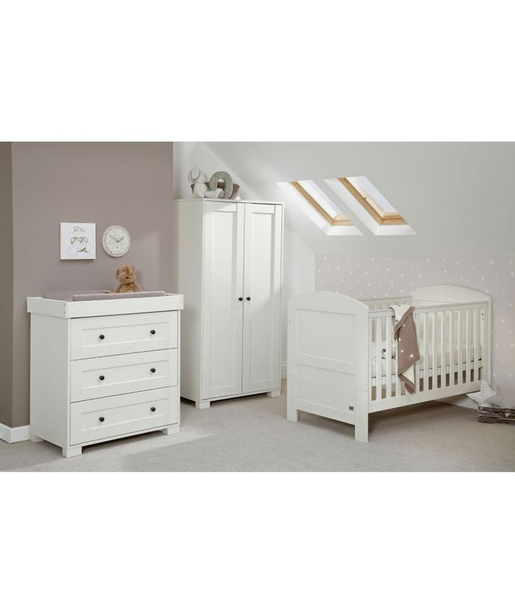 Buy Mamas & Papas Harrow 3 Piece Nursery Furniture Set - White at Argos.co