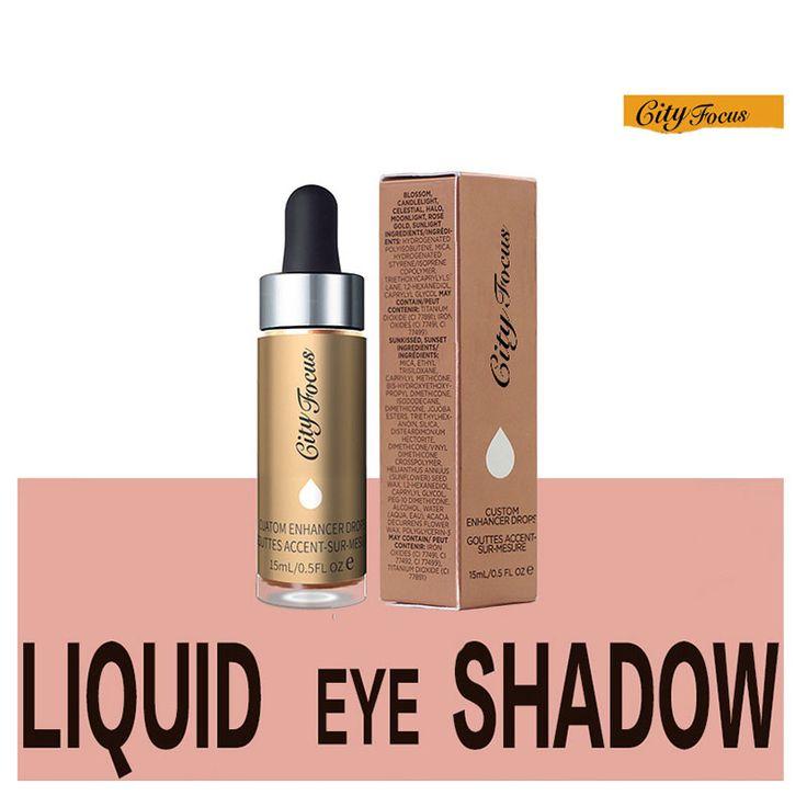 6 Full Color Glitter Makeup Eyeshadow Palette Cosmetics City Focus Eye Shadow Custom Enhancer