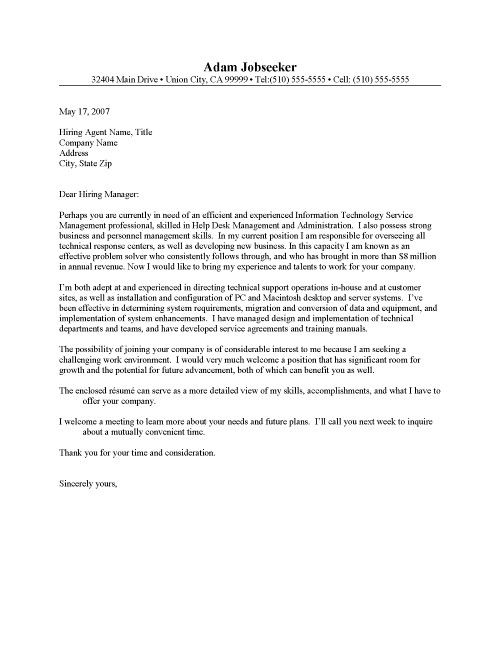 COVER LETTER HELP | Letter Templates