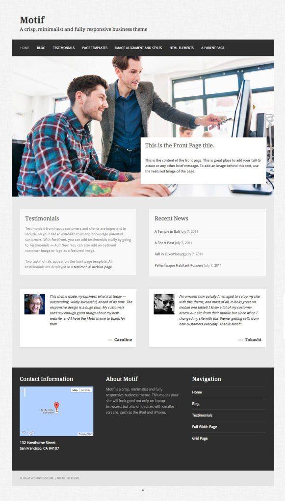 41 best Wordpress.com Themes images on Pinterest | Wordpress ...