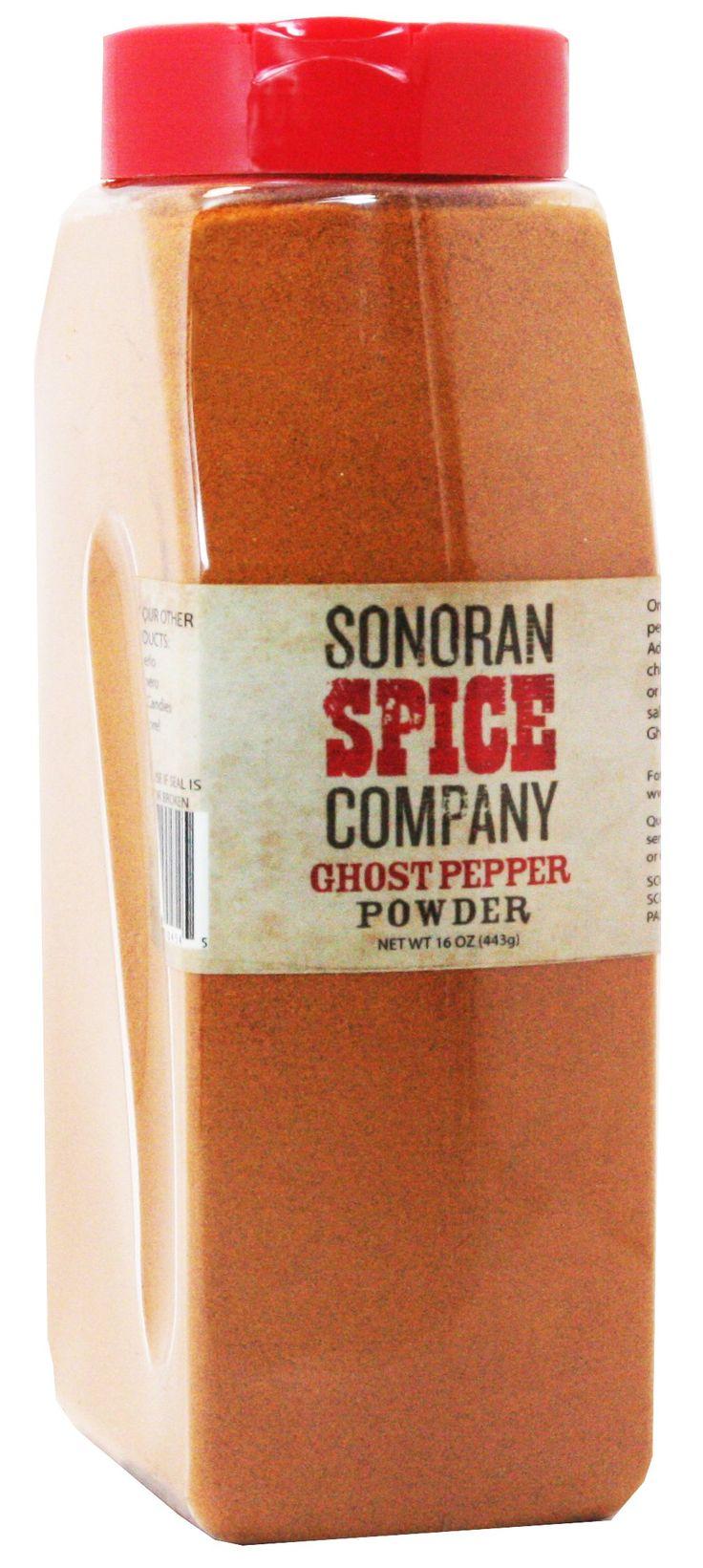 Ghost Pepper Powder, Pure - Bhut Jolokia - 1 Lb