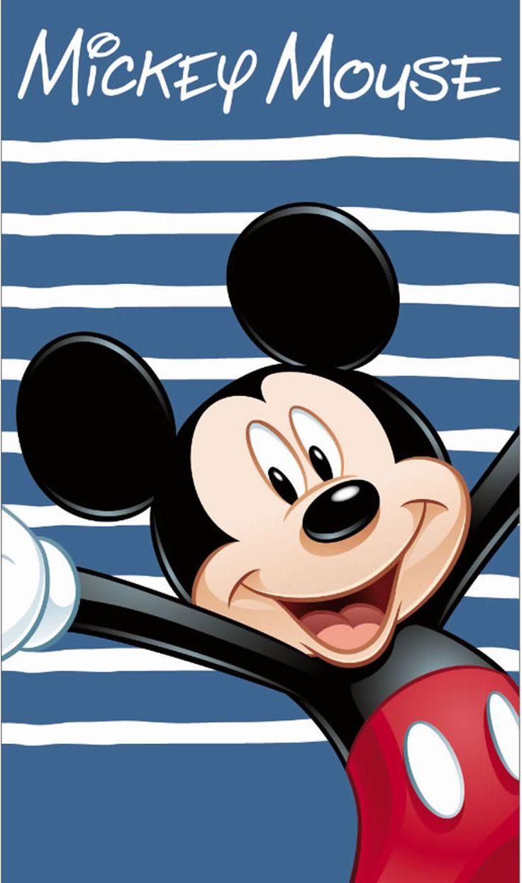 Disney Mickey Mouse Badetuch/Strandtuch Happy bei Papiton bestellen.