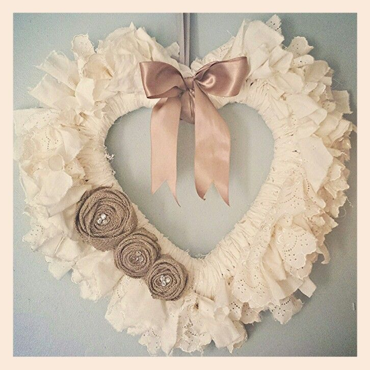 Diy Christmas wreath - cute for little girls room